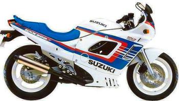 SUZUKI GSX 600F/FU/FU2