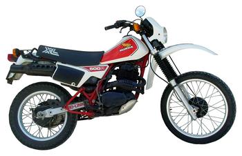 HONDA XL 500 R