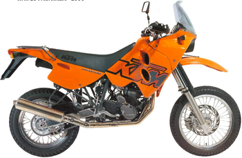 KTM 620 LC4-E ADVENTURE/RALLYE