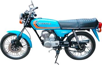 HONDA CB 50 J
