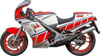 YAMAHA RD 500 YPVS LC