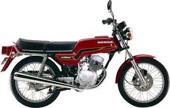 HONDA CB 125 T (TWIN)