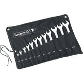 OPEN/BOX END WRENCH SET INCH, 12-PIECE W. BAG