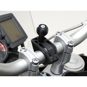 Universal GPS clamp-kit for 22/28/25,4mm handlebars