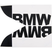 BMW Decorative Logo For Tank