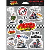 MOTOMANIA STICKER SET
