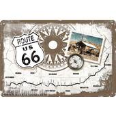 METAL SIGN *ROUTE 66*