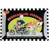 MOTOMANIA TIN-SIGN 30X20