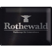 METAL SIGN *ROTHEWALD*
