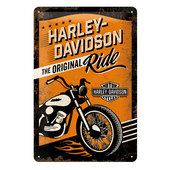 METAL SIGN H-D *RIDE*