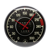 Retro Wallclock Mercedes-Benz - Tacho