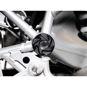 Frame Cap Set For Various BMW, Black, Pair