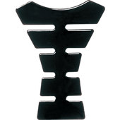 TANK PAD, BLACK, 5 RIBS