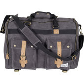 VINTAGE TRAVEL BAG CANVAS ANTHRACITE