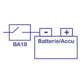 BAAS BA18 BATTERIETRENN-