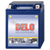 DELO batterie au gel, rempliée et fermée