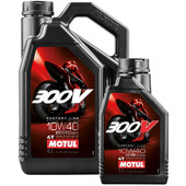 Motul 300V 4T  Engine Oil SAE 10W-40