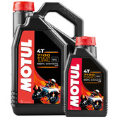 Motul 7100 4T Engine Oil SAE 10W-40, fully synthetic