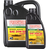 4T Engine Oil Mineral, SAE 20W-50