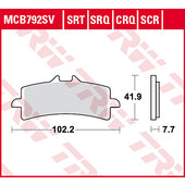 TRW Sinter Road & Track brake-pads