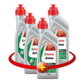 SET CASTROL ACTEVO 20W-40