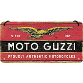 Moto Guzzi hanging Sign