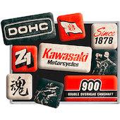 Kawasaki Magnets, Set of 9