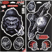 Gorilla Series Decals