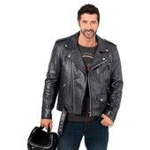 Pilot leather jacket