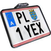 Slip Inn license plate