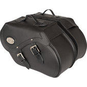 Saddlebags, synthetic leather with Klickfix, 34 litres