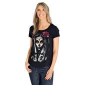 Skull Tattoo Damen T-Shirt