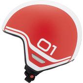 Schuberth O1 Era Red Jet Helmet