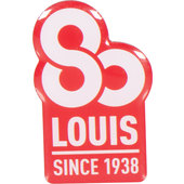 *LOUIS 80* BADGE/PIN APPROX. 3 CM, WITH PIN