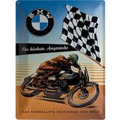 Plaque en métal BMW