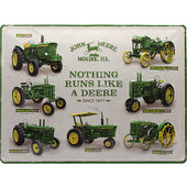 Retro Metal Sign John Deere
