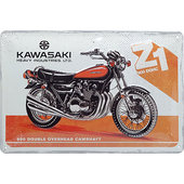 Metal Sign Kawasaki Logo