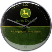 Retro Wallclock John Deere Logo