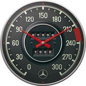 Retro wandklok Mercedes-Benz - snelh.mtr