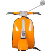 SCOOTER-SPIEGEL RETRO