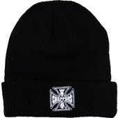 WCC BEANIE IRON CROSS RIB