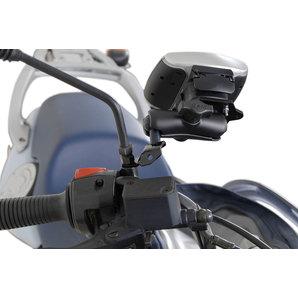 Navihalter für Spiegelgewinde M8-M10 SW-Motech Motorrad