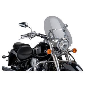 Puig Chopperscheiben- klar- mit Anbausatz und ABE Motorrad