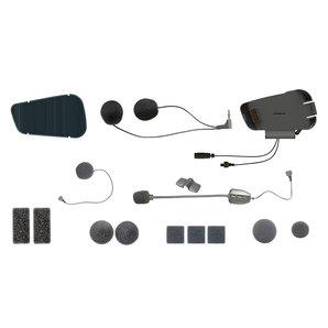Audiokit für Cardo PACKTALK u- SMARTPACK mit Kabel- und Schwanenhalsmikrofon Motorrad