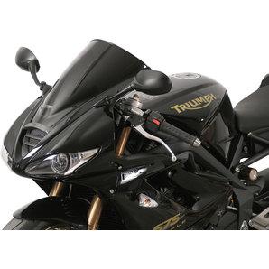 MRA Racingscheibe Schwarz- mit ABE Motorrad