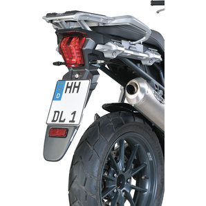 Kotflügelverlängerung hinten schwarz-matt Bodystyle Motorrad