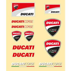 Ducati Aufkleber-Set