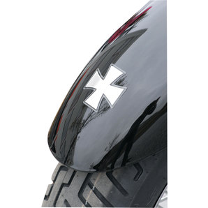 3D CROSS STICKERS, 4 PCS
