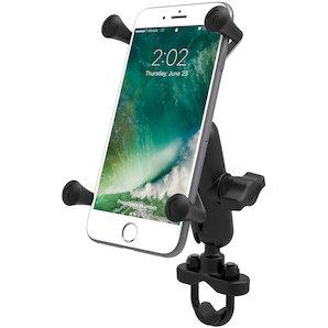 RAM Mounts Lenkerhalterung mit X-Grip u- Verbindungsarm für grosse Smartphones Motorrad