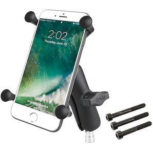 RAM Mounts Lenkerkopf-Motorradhalterung mit X-Grip für Smartphones